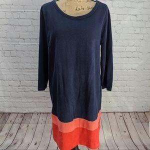 Gap Colorblock Shift Dress XL